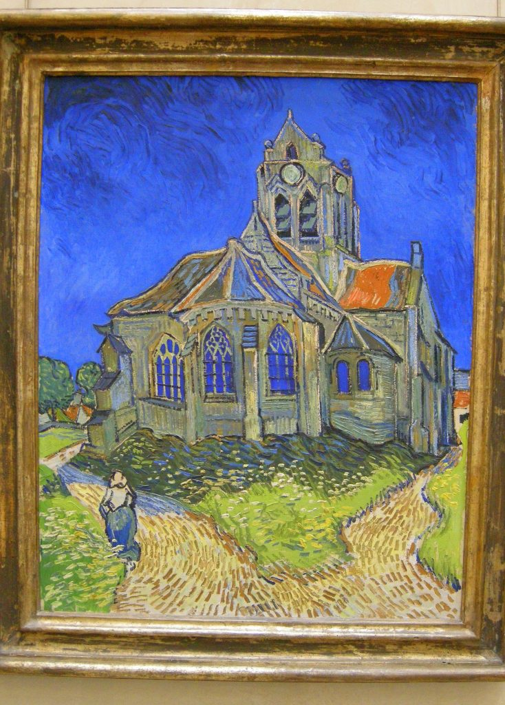 the church at auvers � vincent
