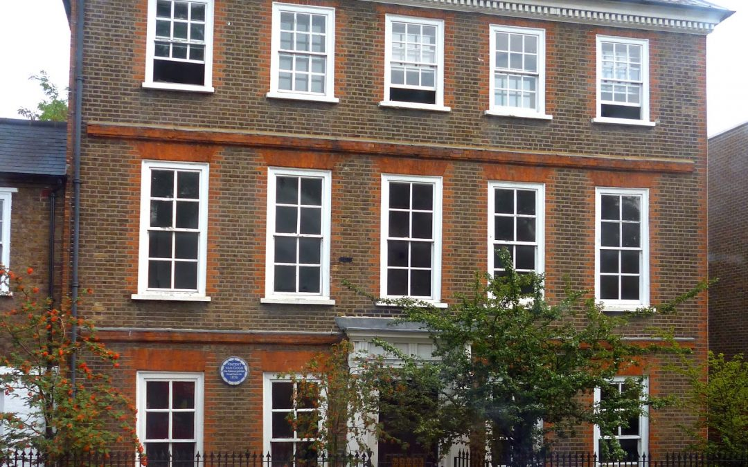 June, 1876 – Moves to Isleworth outside of London to teach new Stokes school run by Thomas Slade-Jones