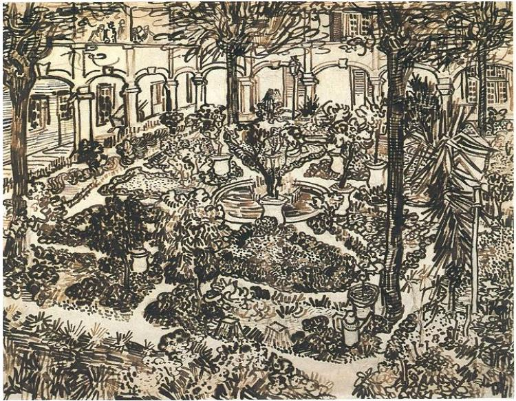 February 25th, 1889 – Vincent is again admitted to the Hospital Dieu in Arles.