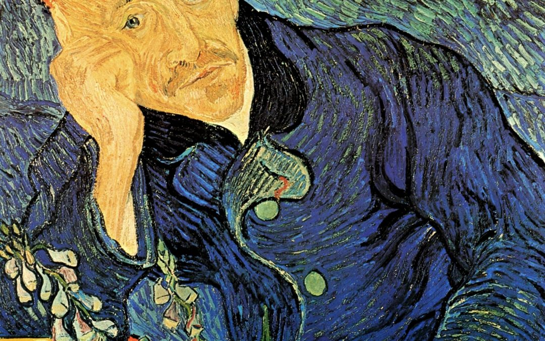 June 3, 1890 – Vincent begins work on Dr. Gachet and the Church at Auvers